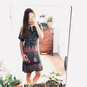 🆕 Listing! Anthropologie lux floral flutter dress